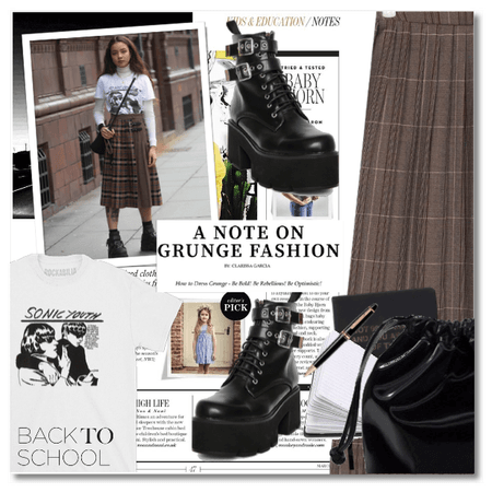 Back2School: A Note on Grunge Fashion