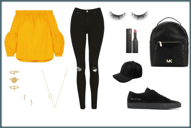 Yellow Sporty