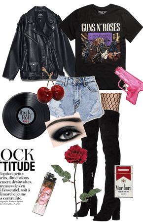 Tonight I'm a rock'n'roll star