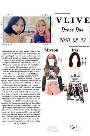 Vlive- Dance Time (MiRis) 2020. 08. 23