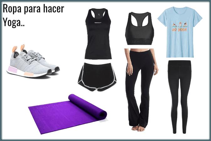 yoga outfitl