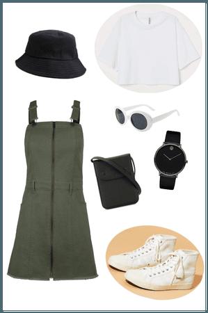 Simple outfit by Dinokola
