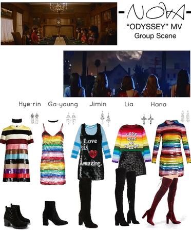 -NOVA- 'ODYSSEY' Group Scene