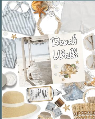 Fab perfume beach walk