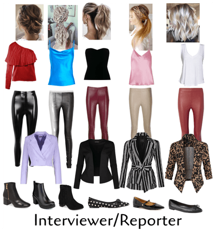 Interviewer/Reporter Outfits