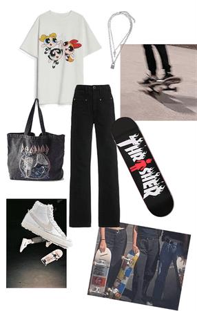 skater girl vibes