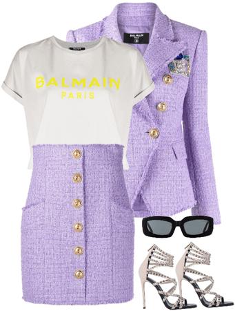 purple balmain