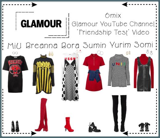 《6mix》Glamour YouTube Video - 'Frienship Test'