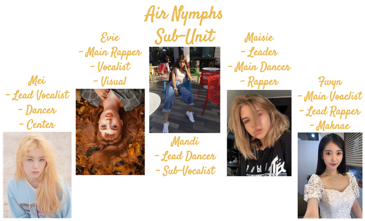 A*Nymphs Lineup
