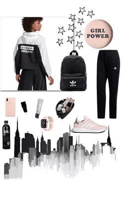 Adidas Jacket Look