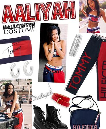 celeb inspired costume Aaliyah 😇