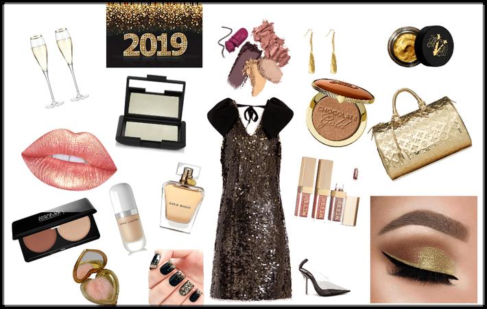 New years glam
