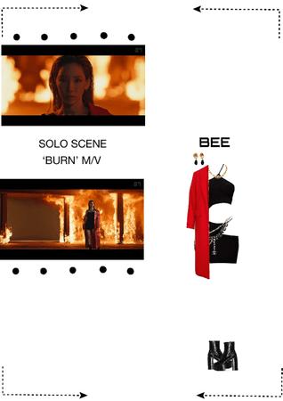 BEE (벌) SOLO SCENE - 'BURN' MV