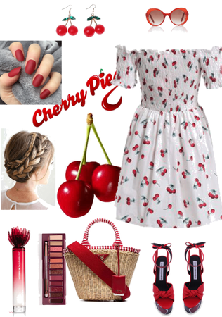 Outfit for sisters n.9 : Cherrywood 🍒
