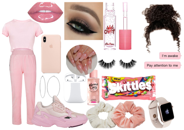 pink ouffit