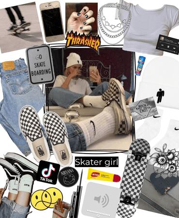 skater girl 🖤🛹