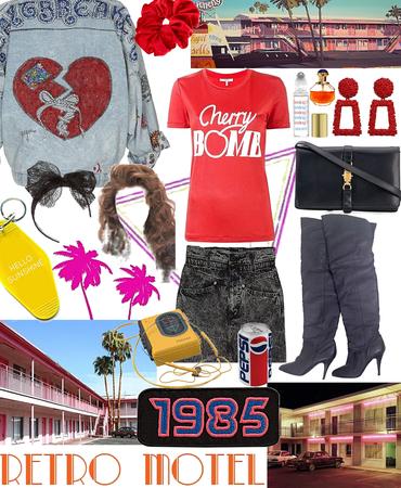 80s Retro Motel Babe