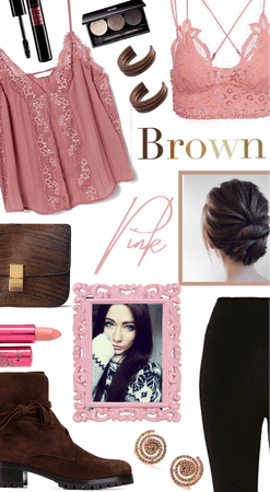 Pink and Brown Combo