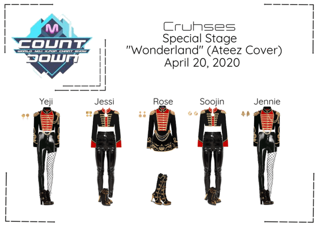 "Crushes (호감) Special Stage Ateez ""Wanderland"""