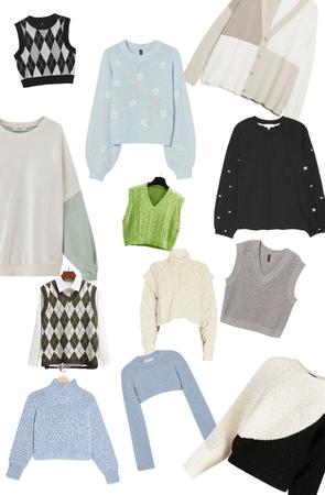 Sweaters/vests