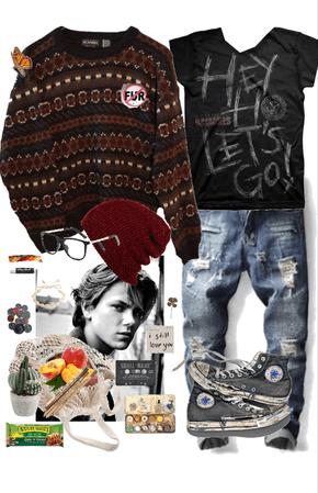 River Phoenix Indie Boho Men's Fashion