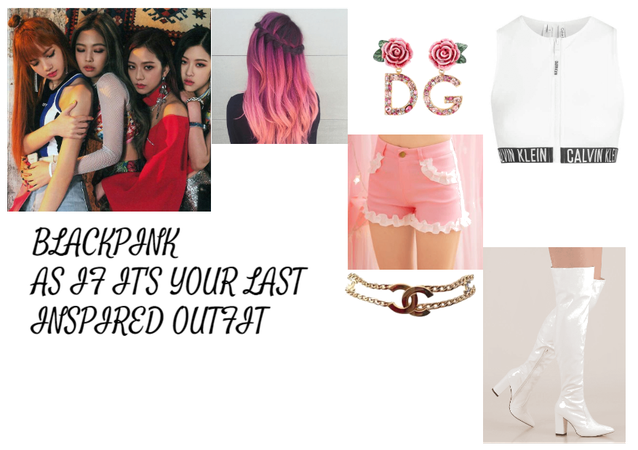 BLACKPINK AS IF IT'S YOUR LAST INSPIRED OUTFIT