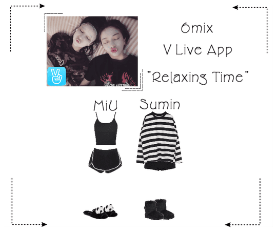 《6mix》V Live App: Relaxing Time: Miu & Sumin