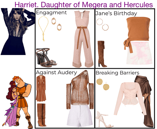 Harriet. Daughter of Megaera and Hercules. Descendants 3