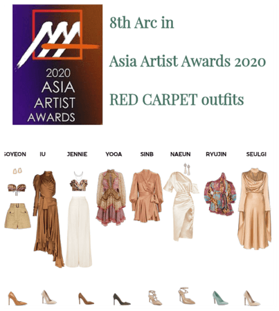 Asia Artist Awards 2020 : red carpet