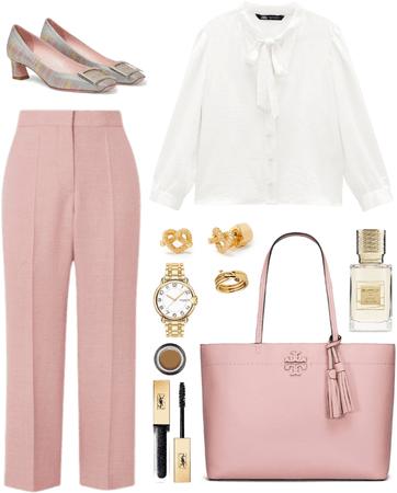 Crop Pants Outfit 012