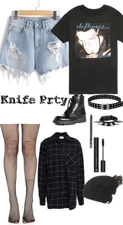 knife prty
