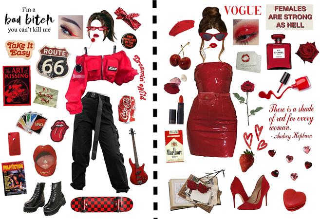 Two red baddies ❤️