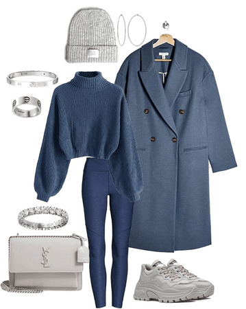 Modern Dark Blue grey Style