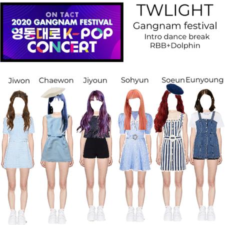 twilight at Gangnam festival