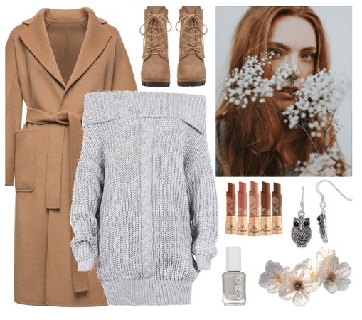 SPRING 2020: Heather Grey + Camel
