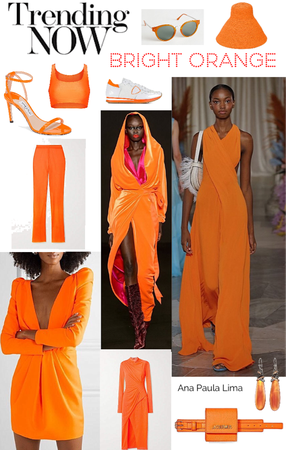 eletric orange