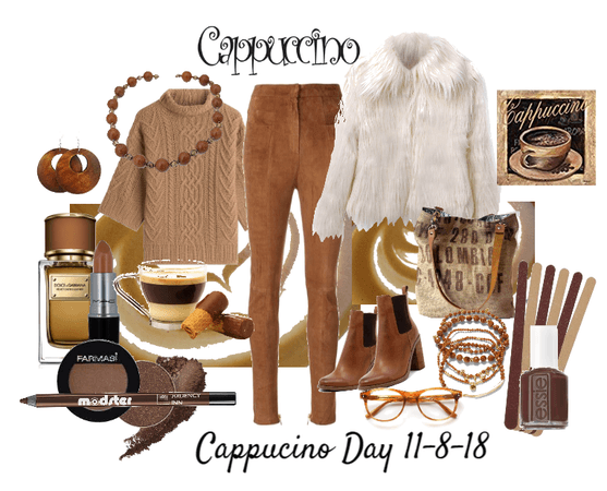 Cappuccino Day outfit