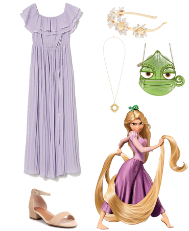 Rapunzel Disney Bound