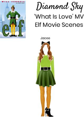 Diamond Sky 'WIL' Elf Movie Scene