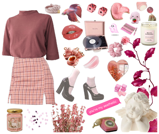 """""""Aesthetic Pink for me"""""""