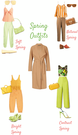 Spring type outfits