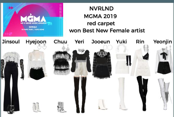 NVRLND MGMA 2019 red carpet