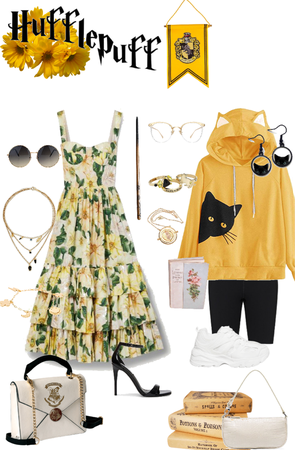 Hufflepuff Outfit 2