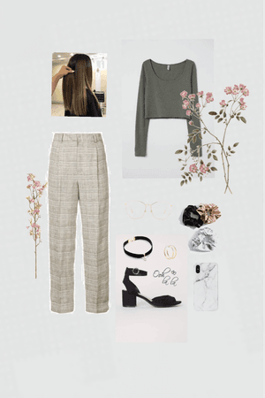 Checkered + Floral
