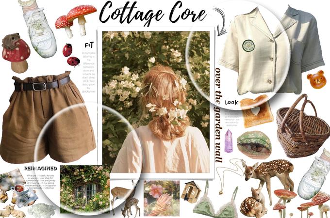 summer cottage core 💚🐸🍃🧚🏼♀️ -for summer cottage core challenge-