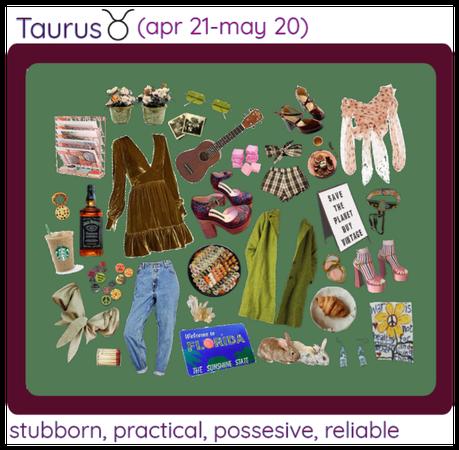 Zodiac Signs pt. 2 - Taurus