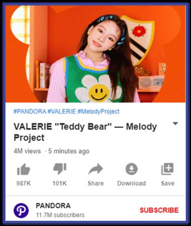 """VALERIE """"Teddy Bear"""" Project"""