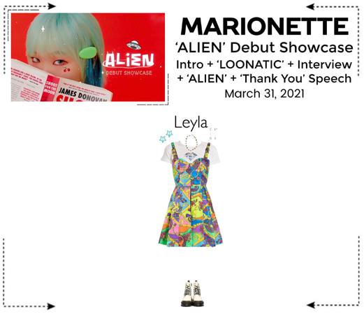 마리오네트 (MARIONETTE) - [LEYLA] 'ALIEN' Debut Showcase