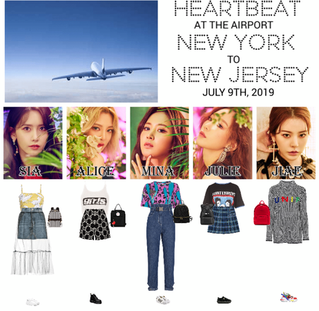 [HEARTBEAT] AIRPORT | NEW YORK TO LOS ANGELES