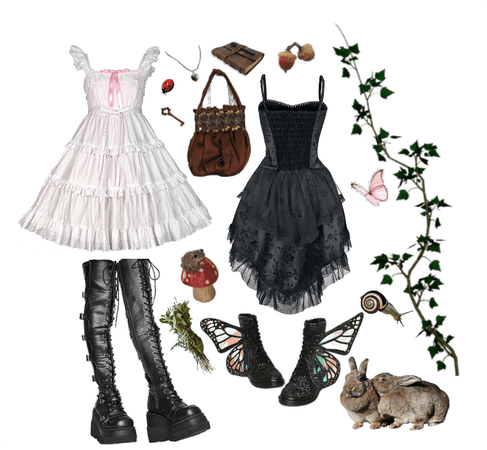 Fairy Grunge outfit 3